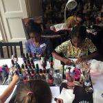 Nail art workshops for children